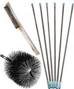 chimney brush, chimney cap, chimney damper, fireplace accessories ...