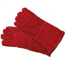 """Fireplace Gloves - Red 13"""" Long"""