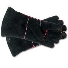 "Fireplace Gloves - Black 13"" Long"