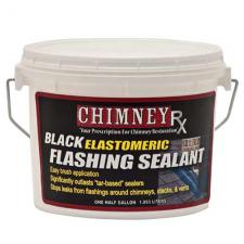 ChimneyRX Elastomeric Black Flashing Sealant - 1/2 Gallon