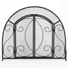 """Uniflame s-1096 Wrought Iron with Doors - 39"""" Wide x 32"""" High"""
