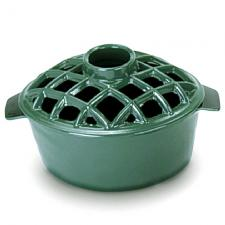 Woodstove Steamer - 2.2 Quart Green Enamel