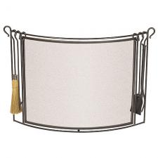 Pilgrim 18294 Fireplace Screen with Tools