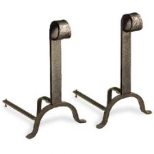 Colonial Fireplace Andirons
