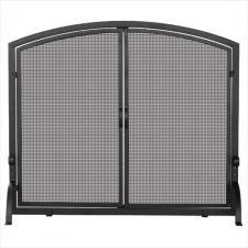 "Uniflame s-1064 Black Screen With Doors  44"" Wide x 34"" High"