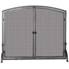 "Uniflame S-1142 Iron Screen With Doors  44"" Wide x 34"" High"