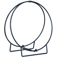 """Hoop-48 Solid Steel Log Hoop - 48"""" Diameter"""