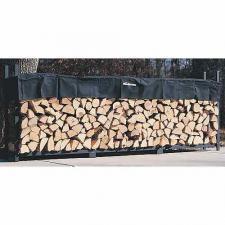 Woodhaven Firewood Rack , 10 Feet Wide