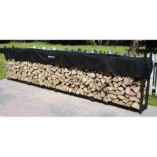 Woodhaven Firewood Rack , 16 Feet Wide