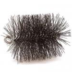 "View: 5"" Round Pro-Sweep Wire Brush 3/8"" Thread - 33056"