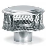 "View: Round Chimney Caps - Homesaver Pro Guardian 3/4"" Screen"
