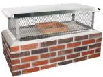 Chimney Caps - Chimney Master Stainless Steel Top Mount