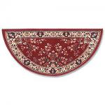 "View: 56"" Wide Half Round Wool Hearth Rug"
