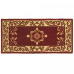 "View: 44"" Wide Jardin Rectangle Wool Hearth Rug"