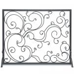 View: Pilgrim Forged Scroll Decorative Summer Screen