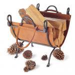 View: Pilgrim 18518 Vintage Iron Log Carrier