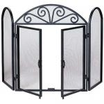 "View: Uniflame S-1184 Iron Screen With Doors - 52"" Wide x 32"" High"