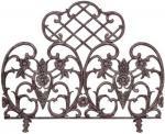 View: Antique Bronze Decorative Summer Fire Screen