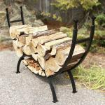 View: Uniflame w-1859 Stylish Curved Log Rack