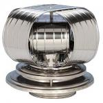 "View: ICP Air Insulated Vacu Stack Chimney Cap - 12"" Round"