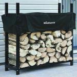 View: Woodhaven Firewood Rack , 4 Feet Wide