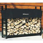 View: Woodhaven Firewood Rack , 5 Feet Wide