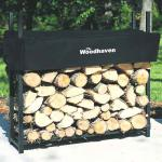 View: Woodhaven Firewood Rack , 3 Feet Wide
